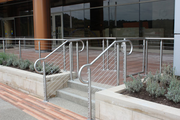 Ornamental railings and monument stairs from EPI in Pittsburgh, PA